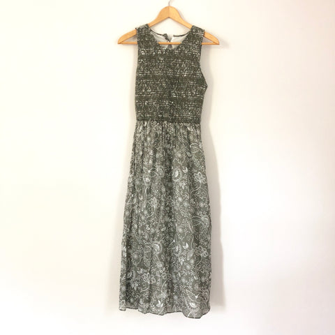 Abercrombie & Fitch Tea Length Tank Dress - Size M