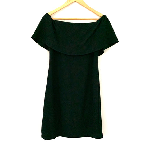 Charles Henry Black Off the Shoulder Dress NWT- Size XS