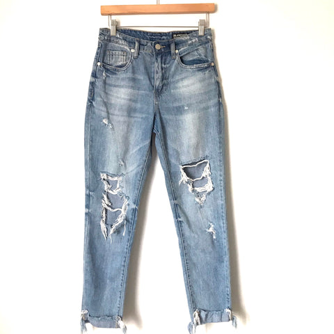 "BLANKNYC The Rivington Distressed Jeans- Size 26 (Inseam 26.5"")"