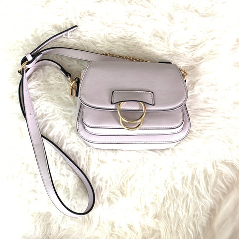 Melie Bianco Leather Crossbody Handbag (LIKE NEW!)