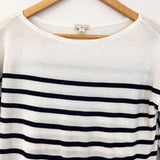 Gap Striped Long Sleeve Cotton Blouse- Size S