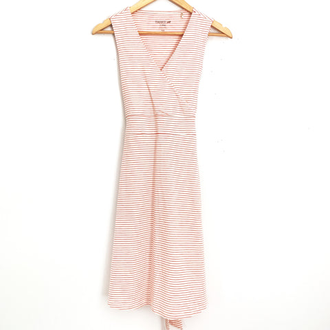 Toad&Co Red and White Striped Dress- Size XS