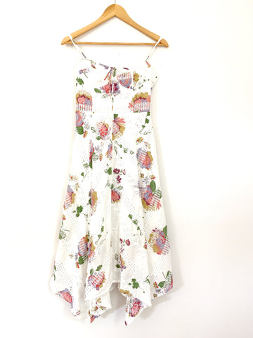 WAYF Floral Eyelet Dress- Size XS