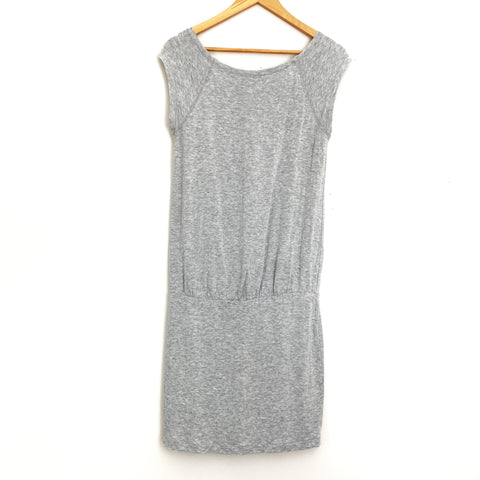 Lou & Grey Drop Waist Grey Dress- Size XS