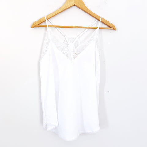 Lovestitch White Lace Cami NWT- Size S