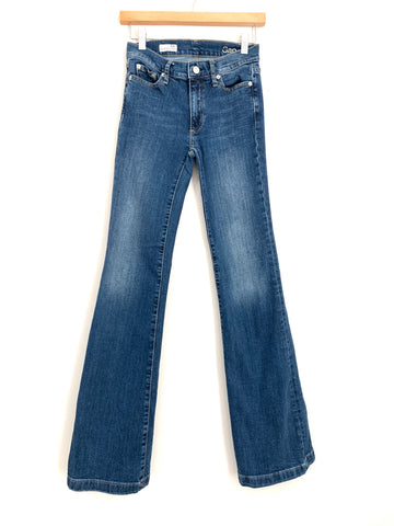 "Gap Authentic Flare Jeans- Size 24R (Inseam 32"")"