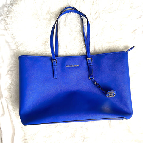 Michael Kors Large Blue Handbag (see notes)