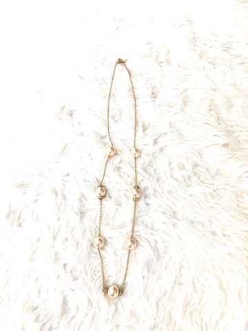 J Crew Pearl Beaded Necklace