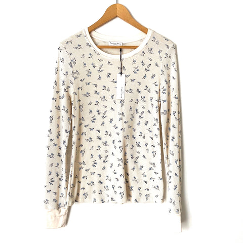 "Michael Stars ""Jasmine Vintage Floral Thermal"" Top NWT- Size L"