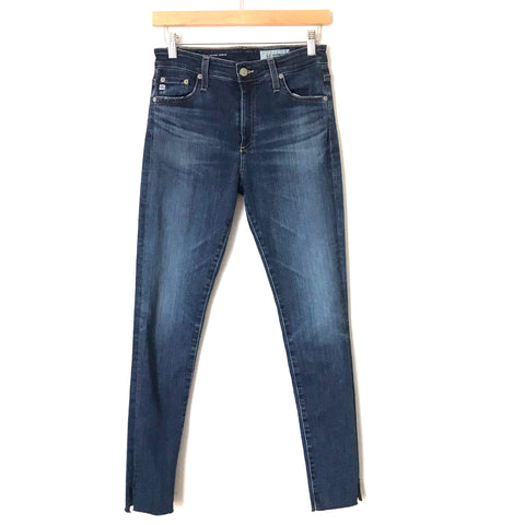 "AG The Farrah High-Rise Skinny Ankle Jeans- Size 27R (Inseam 28"")"