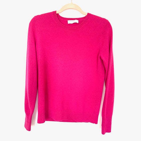 Everlane Magenta Crew Neck Sweater- Size M
