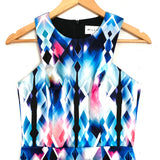 MILLY Colorful Geometric Dress- Size 0