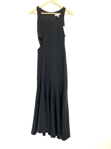 WAYF Black Dress with Side Cut Out and Front Slit NWT- Size XS
