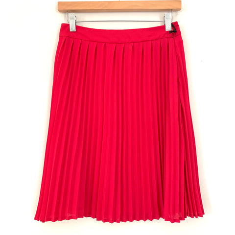 Gibson Pink Pleated Skirt NWT- Size XS