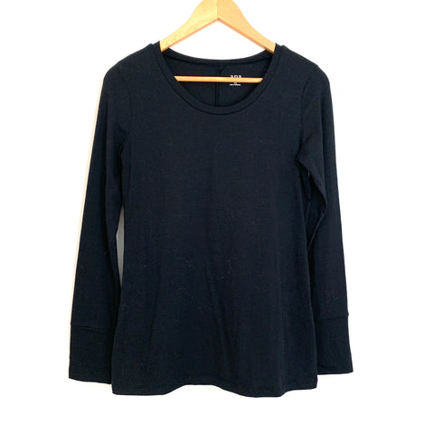 a.n.a A New Approach Black Long Sleeve Top- Size XS