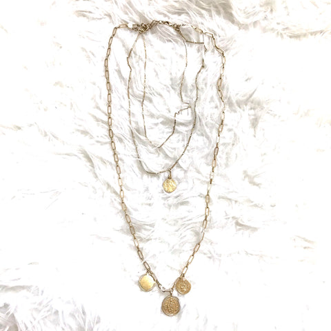 Stella & Dot Layered Pendant Necklace