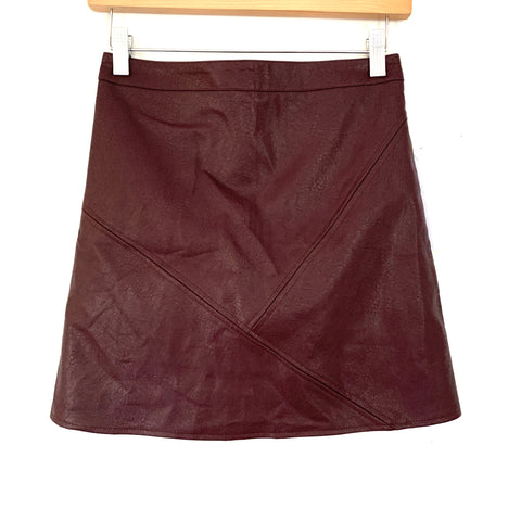 Goodnight Macaroon Faux Leather Mini Skirt NWT- Size S