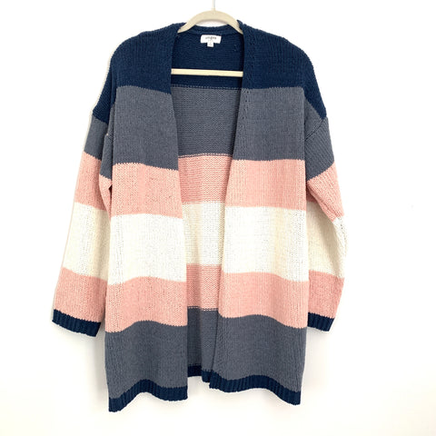 Umgee Color Block Cardigan- Size S