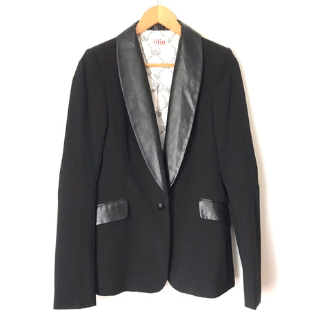 iiJin Black Blazer- Size 2 (see notes)