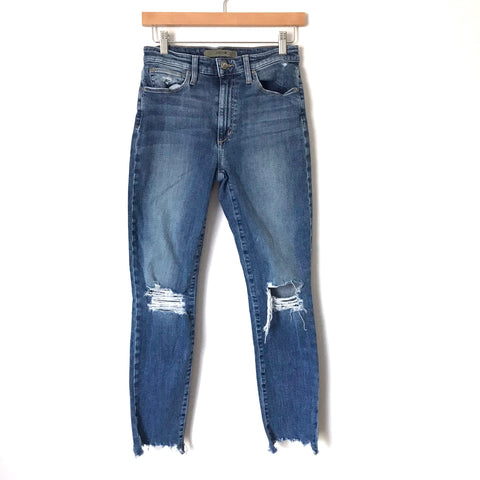"Joe's Distressed The Charlie High Rise Skinny Ankle Jean- Size 26 (Inseam 26"")"