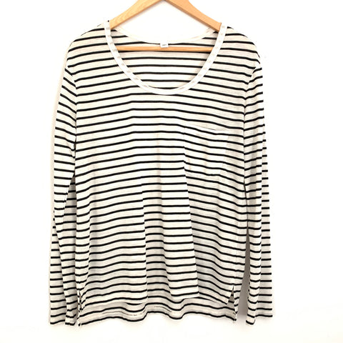 BP Striped Long Sleeve Top- Size S