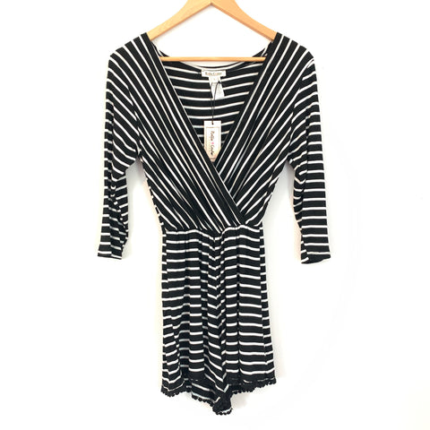 Rolla Coster Striped Romper NWT- Size S