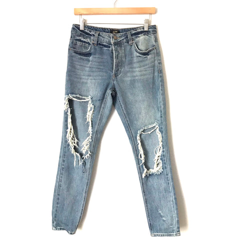 "AFRM Super Distressed Jeans- Size 25 (Inseam 27"")"