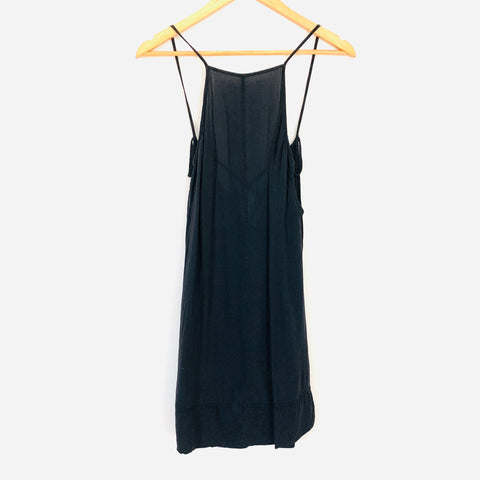 Free People Black Back Strappy Nightie- Size XS