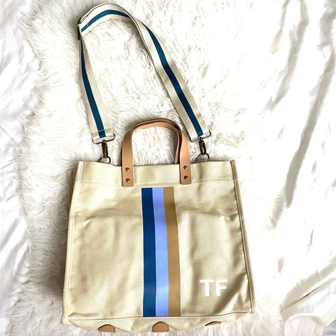 Bagging Rights Monogrammed Tote-ally Bag (Monogram TF)