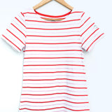 Joules Pink Striped T-Shirt Dress- Size 2