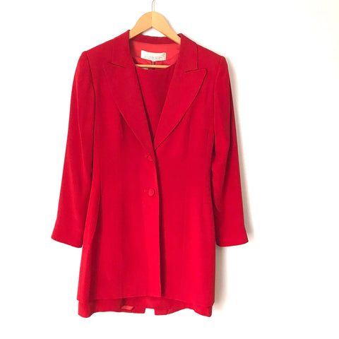 Hugo Buscati Dress with Blazer Set- Size 10 (see notes)