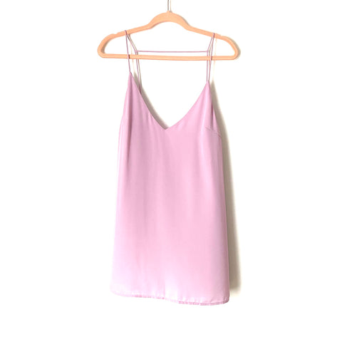 Superdown Lavender Strappy Low Back Cami Dress NWT- Size L