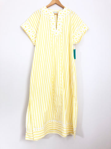 August Morgan by Kate Hersch Yellow Stripe- One Size Fits All