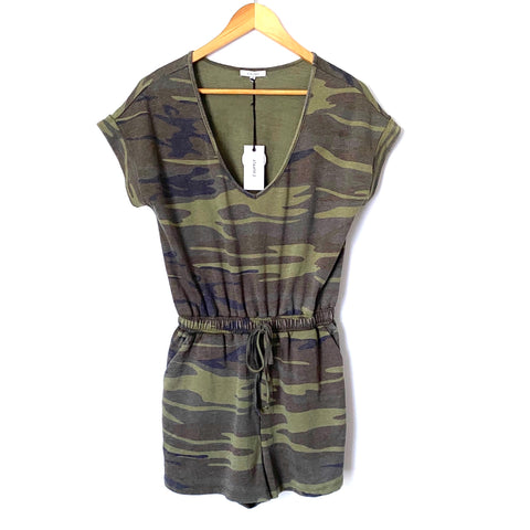 Z Supply Camo Romper NWT- Size XS