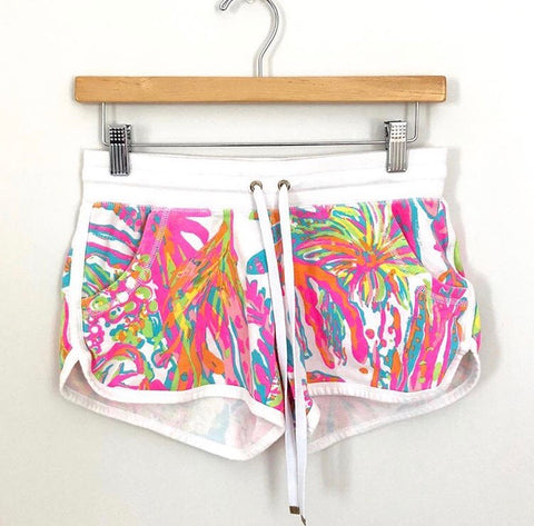 Lilly Pulitzer cotton drawstring shorts- Size XS