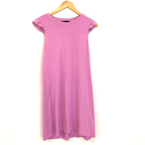 Gibson Lilac Stretch Cotton Dress- Size XS