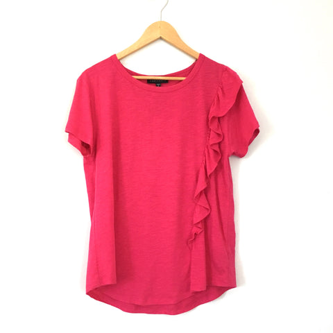 Sanctuary Pink Ruffle Top NWT- Size S