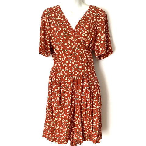 Madewell Floral Top Wrap Romper NWT- Size 14 (SOLD OUT ONLINE)