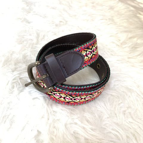 Target Colorful Embroidered Belt- Size S