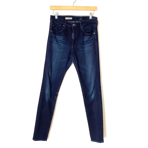 "Adriano Goldschmied ""The Farrah Skinny"" High Rise Skinny Dark Wash Jeans- Size 29R (Inseam 29 1/2"")"