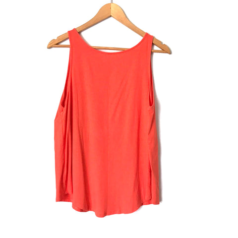 Under Armour Orange Tank with Split Back- Size ~S