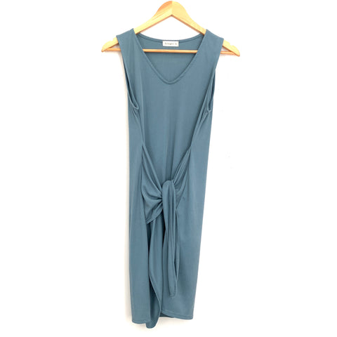 Ginger G Tank Dress with Front Knot- Size S