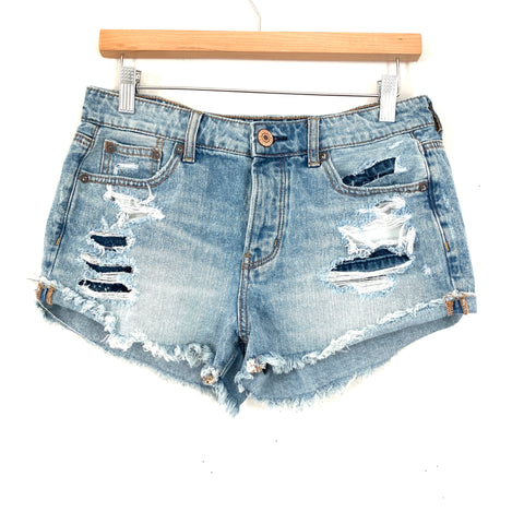 American Eagle Distressed Shorts- Size 4