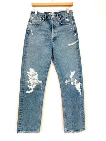 "AGOLDE 90's Mid-rise Loose For Fallout Jeans NWT- Size 25 (Inseam 28"")"