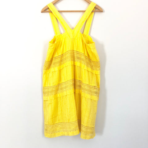 A.Ra Yellow Triangle Top Dress- Size L