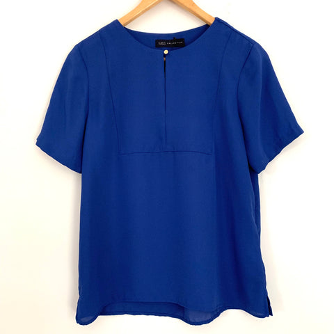 M & S Collection Blouse with Key Hole NWT- Size 2 Petite