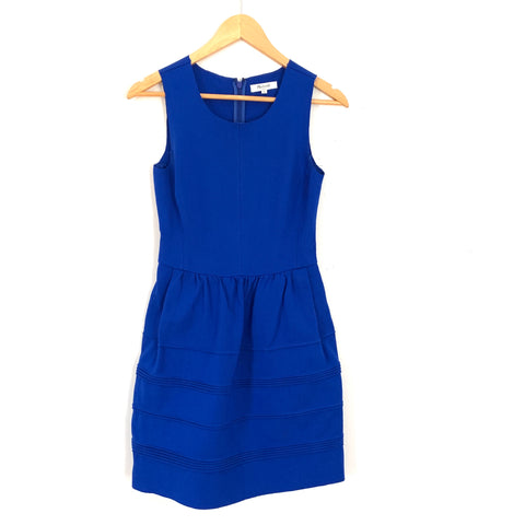 Madewell Royal Blue A-line Dress- Size XS