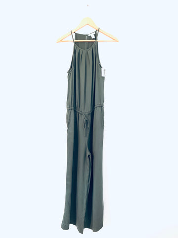 Daily Ritual Olive Crop Jumpsuit NWT- Size 2