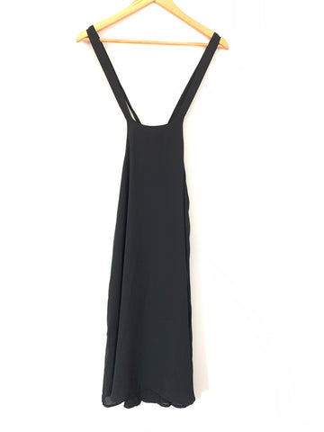 Gibson Black Halter Tie Back Shift Dress - Size XS
