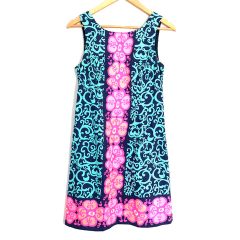 Lilly Pulitzer Bright Floral Shift Dress - Size 2